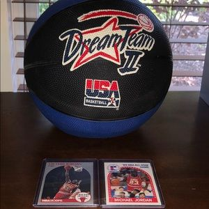 1993 Dream Team II Michael jordan McDonald's Card